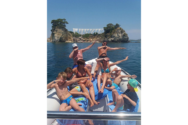 boat rentals and cruises in tsilivi zante zakynthos greece